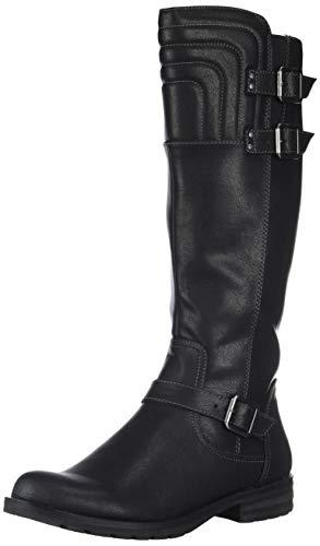SOUL Naturalizer Women's BIJOUX Mid Calf Boot black 9 W US