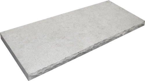 Stone Partnership Field Tile 14 x 36 in Gray