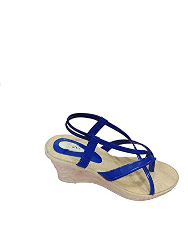970049924 City Walk varisha Heel Sandal for Women Blue Colour Size 7  Buy Online at  Low Prices in India - Amazon.in