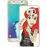 S6 Edge+ Cases Designed With Tattoo Ariel Little Mermaid White Case for Samsung Galaxy S6 Edge Plus