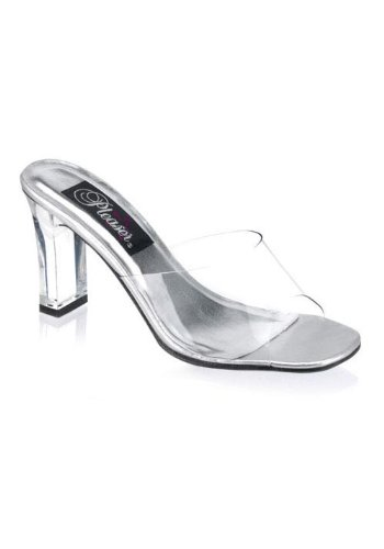 nce-301 Sandal,Clear Lucite,5 M US ()