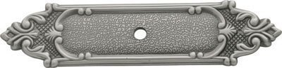 (Belwith Keeler Richelieu Collection Knob Backplate Antique Pewter by Hickory Hardware)