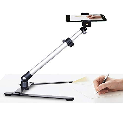 Calligraphy Video Stand,Table Top Phone Mount for Baking Crafting Demo Drawing Sketching Recording/Live Streaming - AceTaken