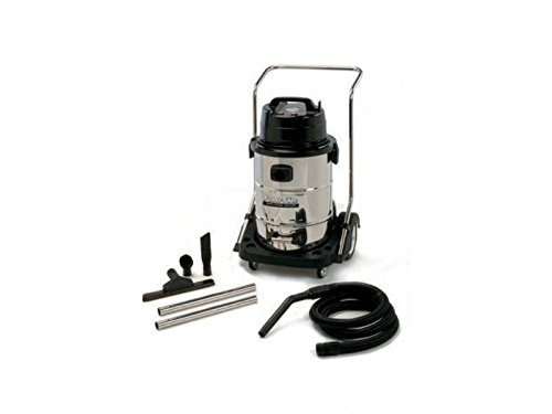 Powr-Flite PF55 Wet Dry Vacuum with Stainless Steel Tank and Tool Kit, 20 gal Capacity