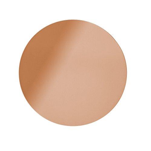 Round Copper Finish Wall - Copper Round Mirror