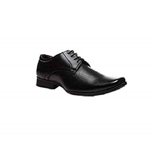 Buy BATA Men's Leo Black Formal Shoes-8