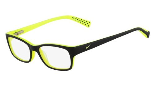 Nike Eyeglasses 5513 020 Black/Volt Demo 49 16 (5513 Glasses)