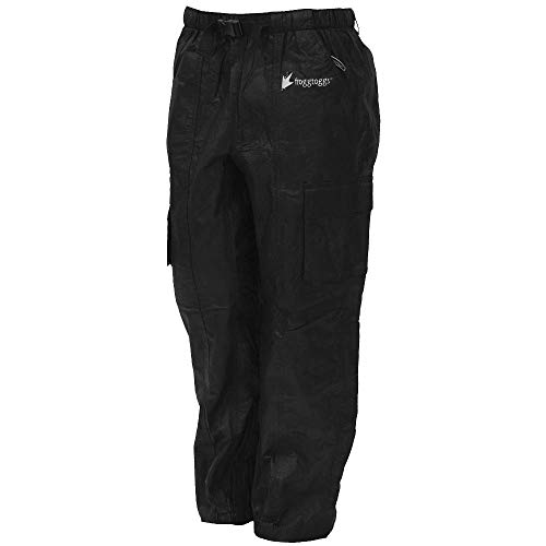 Frogg Toggs Tekk Toad Cargo Pant, Black, Size Large