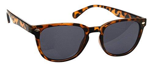Mytoptrendz Unisex Plastic Frame Tortoise Shell Black Sunglasses