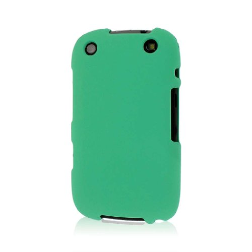 Empire Mpero Snapz Series Rubberized Case for BlackBerry Curve 9310, 9320 - Retail Packaging - Mint Green (Rubberized Blackberry Curve)