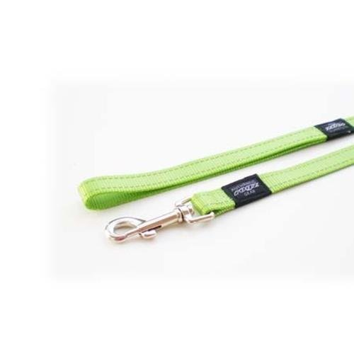 Rogz Utility Snake Lime dog leash 4,7 ft Medium
