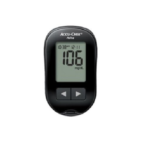 Roche 365702101104 Accu-Chek Aviva Diabetes Meter, Manual an