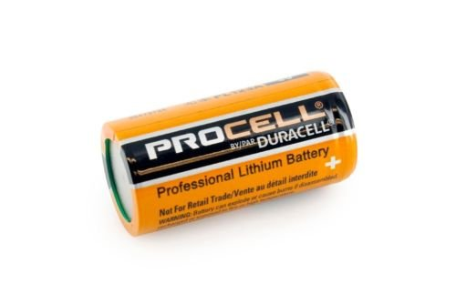 Pack of 60 Duracell Procell Professional PL123A 3V Photo Lithium Battery