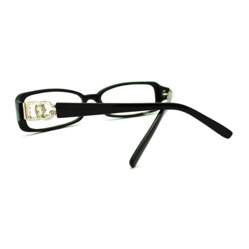 13e20bce439 DG Eyewear Clear Lens Glasses Womens Rectangular Eyeglasses 60%OFF