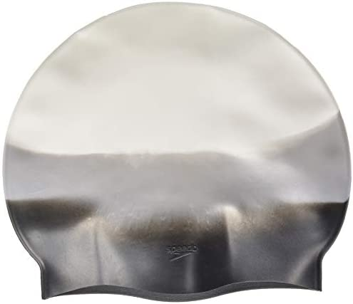 Speedo Adult Navy Solid Silicone Swim Cap Z1 for sale online