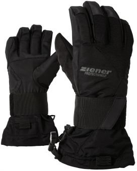 Ziener Jungen Handschuhe Montily AS Junior Gloves SB, Black, XS, 151722