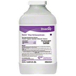 Diversey 4963331 Oxivir, Hospital Commercial Diversey Oxivir Disinfectant Cleaner, Jfill Ultra Concentrate Containers, Attacks Dangerous Viruses & Pathogens (2/cs)