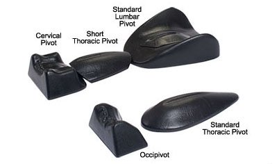Pivotal Therapy System 4-Piece Set: 1 of each - Occipivot, Cervical Pivot, Short Thoracic, Standard Lumbar by Pivotal Therapy