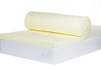 bodymould memory foam mattress topper 2 inch uk double