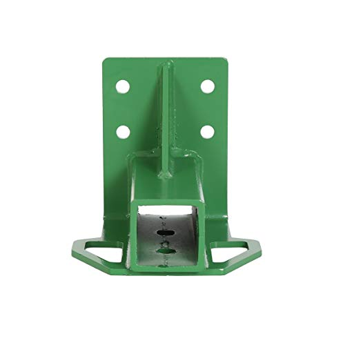 ECOTRIC Rear Trailer Hitch (Green) for John Deere Deer Gator 4x2/ 6x4 Old-Style Bolt-on