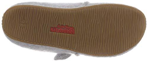Hellgrau Kitzbühel Living Bas Grau Chaussons Hasenohren Fille Klettmodell Mit 620 Z6Pxq6UT