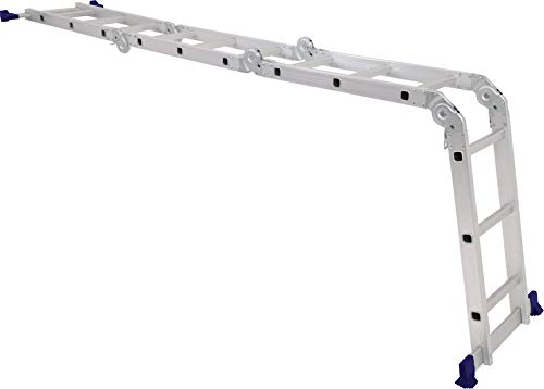 Escada Multifuncional 4x3 12 Degraus Mor