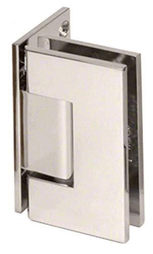 C.R. LAURENCE JRG044PN CRL Polished Nickel Junior Geneva 044 Series Wall Mount Offset Back Plate ()