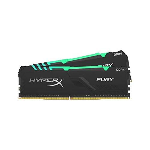 chollos oferta descuentos barato HyperX Fury HX432C16FB3AK2 32 Memoria DIMM DDR4 32GB Kit 2x16GB 3200MHz CL16 RGB