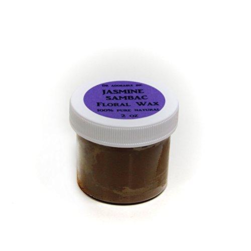 (Jasmine Sambac Floral Wax 100% Pure 2oz)