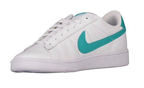 Mesh Tennis Classic Nike (NIKE Men's Tennis Classic CS White/Clear Jade Tennis Shoes (US 11))