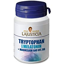 TRYPTOPHAN,MELATONIN, MAGNESIUM,VITAMIN B6-60TABS. ANA MARIA LAJUSTICIA