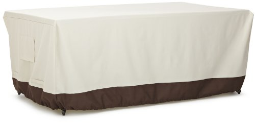 AmazonBasics Dining Table Outdoor Patio Furniture Cover, 72 Inch (Covers Patio Table)