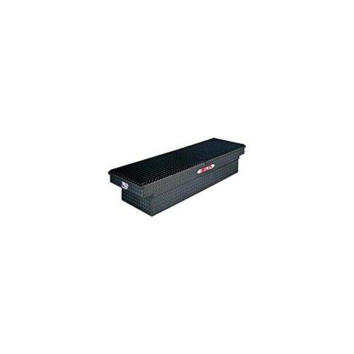 Delta 1-306002 Black Full Size Aluminum Mid-Lid Dual Lid Crossover Truck Box