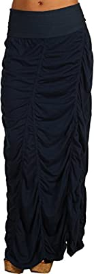 XCVI Womens Jersey Peasant Skirt