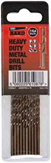 "Cobalt M35 imperial 764"" drill bits for metal by TTP HARD drills 