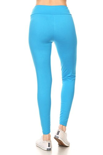 8d757a2cf0 Leggings Depot Yoga Waist REG/Plus Women's Buttery Soft Solid Leggings  16+Colors (