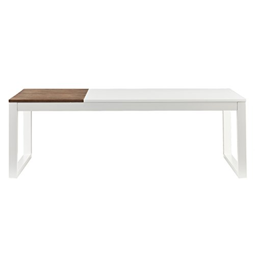 Holly & Martin Lydock Cocktail Coffee Table,  White Finish