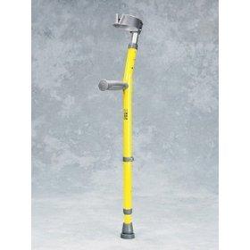 Pediatric Forearm Crutch - 1 Pair w/ Full Cuff - Epoxy-coated pediatric forearm crutches with 3