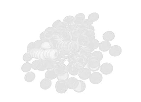 Sixlus Caja de Monedas Redondas Caja Redonda Caja de Monedas contenedor para coleccionistas 40MM