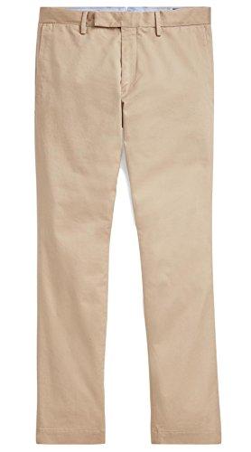Polo Ralph Lauren Mens Stretch Slim Fit Chino (Khaki 34x30) -