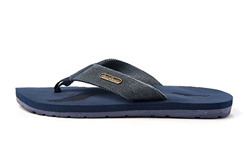 Gewoon Snelheid Mens Vrijheid Adelaar Patriot Flip-flops Slide Op Sandalen Klassieke Coole Casual Chic Mode Alledaagse Blauw