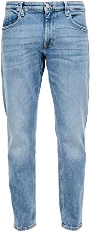 s.Oliver Regular Fit: proste legginsy męskie: s.Oliver: Odzież