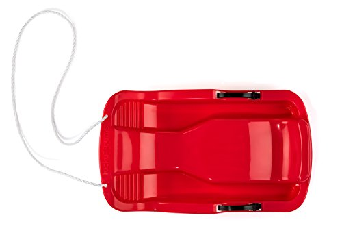 Lucky Bums Snow Kids Toboggan with Brakes, 26- Inch (Red)