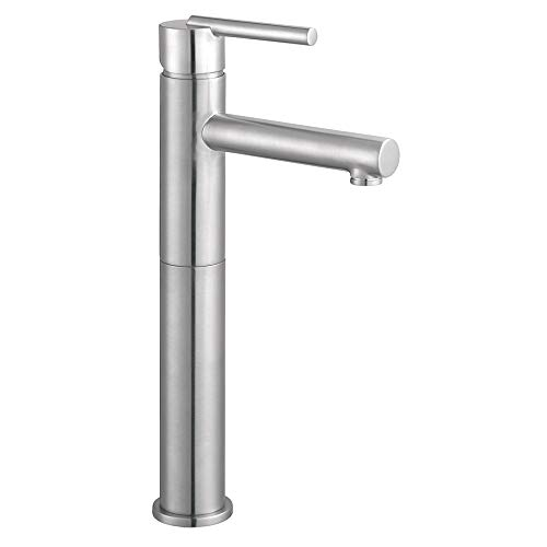 Design House 525576 Geneva Vessel Bathroom Faucet, Satin Nickel