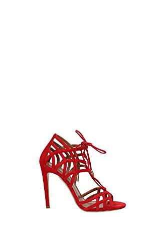 Sandalias Aquazzura Mujer - (GINHIGS0SUEF00LIPSTICK) EU Rojo