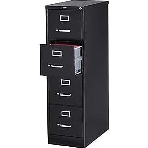 Amazon Com Staples Vertical File Cabinet 25 Quot 4 Drawer