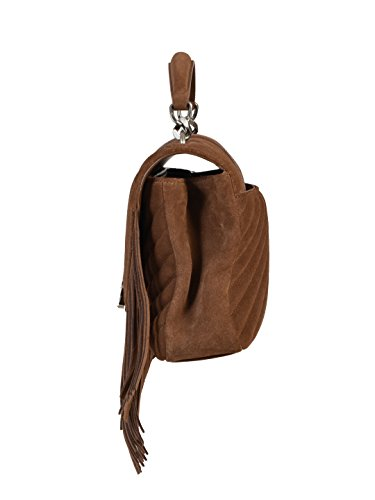marron Sac femme Saint Marke marron à main pour Laurent Größe IT A55WPw0q