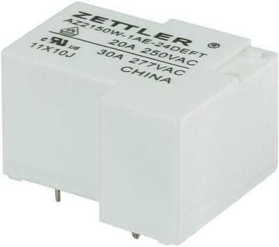 Zettler Electronics Relais pour Circuits imprim/és AZ2150W-1AE-24DEFT 507756 24 V//DC 30 A 1 NO T 1 pc s