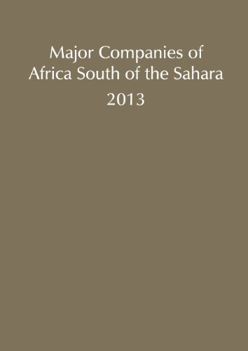 Major Companies of Africa South of the Sahara, 2013