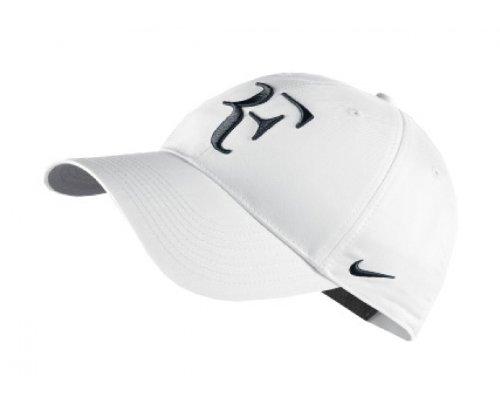 Nike RF Hybrid Cap (Adult Unisex) (White/Black, One Size) ()